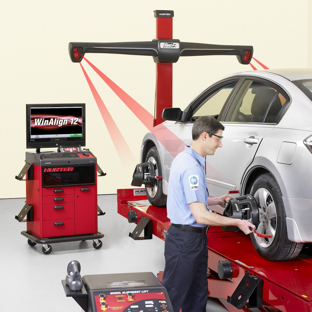 Wheel Alignment & Tire Balancing in Wilmington, DE by Buckley's Inc