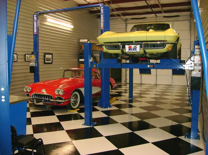 Four Post Car Lifts Products - FAST Equipment