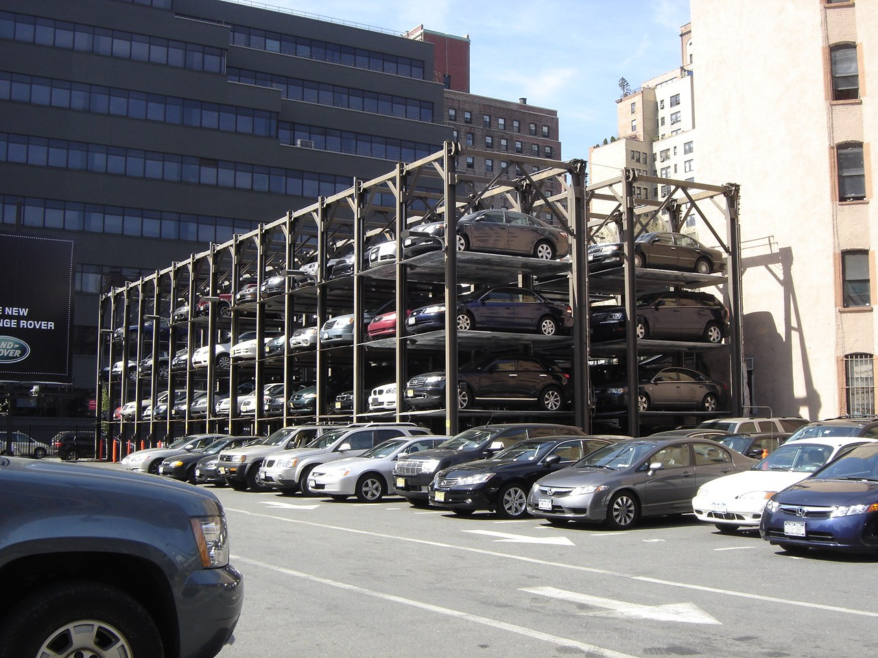 Stacked Multi Level Car Lift Storage Automated Parking System Klaus